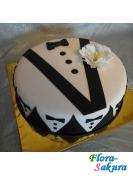 Торт для мужчины Бонд . Доставка по Киеву и Украине