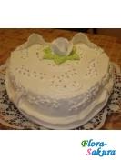 Торт на свадьбу Сердце . Доставка по Киеву и Украине
