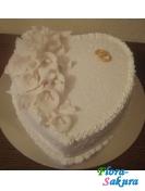 Торт на свадьбу Снежный танец . Доставка по Киеву и Украине