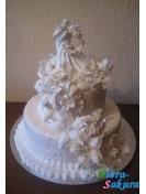 Торт на свадьбу Карусель . Доставка по Киеву и Украине