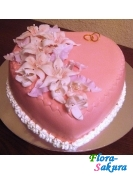 Торт на свадьбу Фламинго . Доставка по Киеву и Украине