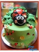 Детский торт Сонечко . Доставка по Киеву и Украине