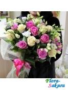 Букет цветов Краски лета . Доставка по Киеву и Украине
