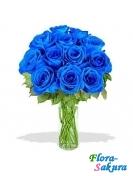 Букет синих роз . Доставка по Киеву и Украине