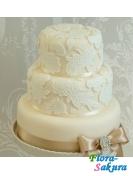 Свадебный торт Брызги шампанского . Доставка по Киеву и Украине