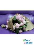 Букет на помолвку Фламинго . Доставка по Киеву и Украине