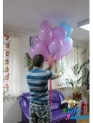15 шариков с доставкой . Доставка по Киеву и Украине