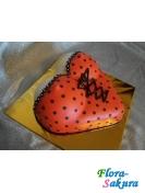 Торт для мужчины Красный корсет . Доставка по Киеву и Украине
