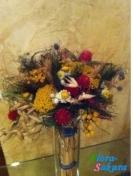 Букет сухо цветов-3 . Доставка по Киеву и Украине