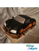 Торт для мужчины Стильное авто . Доставка по Киеву и Украине