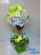Маленькое дерево цветов . Доставка по Киеву и Украине