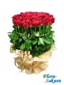 35 голландских роз . Доставка по Киеву и Украине