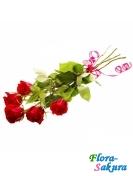 5 импортных роз . Доставка по Киеву и Украине