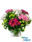 Полевой букет цветов Лето . Доставка по Киеву и Украине
