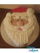 Новогодний торт Дед Мороз . Доставка по Киеву и Украине
