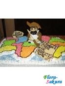 Торт на заказ День ЖКХ . Доставка по Киеву и Украине