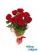 Букет красных роз Эстель . Доставка по Киеву и Украине