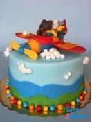 Детский торт Веселый полет . Доставка по Киеву и Украине