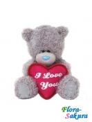 Мишка Тедди I love you . Доставка по Киеву и Украине
