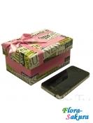 Подарочная коробка 30 см . Доставка по Киеву и Украине