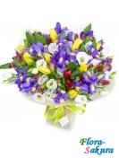 Букет цветов Наше лето . Доставка по Киеву и Украине
