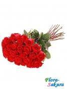 25 голландских роз . Доставка по Киеву и Украине