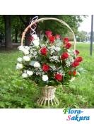 Корзина цветов Мы . Доставка по Киеву и Украине