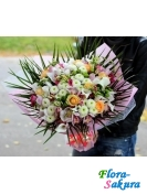 Букет цветов ВИП-дама . Доставка по Киеву и Украине