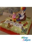 Детский торт Маша и Мишка . Доставка по Киеву и Украине