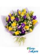 Букет цветов Летний полдень . Доставка по Киеву и Украине