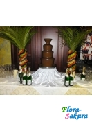 Шоколадный фонтан Черный 90см . Доставка по Киеву и Украине
