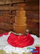 Шоколадный фонтан молочный 90см . Доставка по Киеву и Украине
