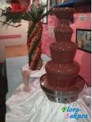 Шоколадный фонтан молочный 70см . Доставка по Киеву и Украине