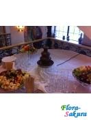 Шоколадный фонтан 40 см . Доставка по Киеву и Украине