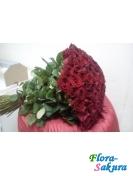 101 красная роза 1 метр . Доставка по Киеву и Украине