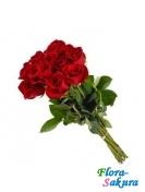 9 красных роз  . Доставка по Киеву и Украине