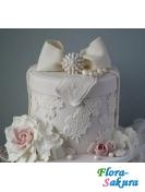Свадебный торт Адель . Доставка по Киеву и Украине