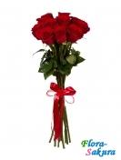 11 красных роз Южанка . Доставка по Киеву и Украине