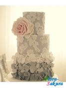 Свадебный торт Амбре . Доставка по Киеву и Украине