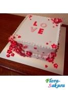 Торт love . Доставка по Киеву и Украине