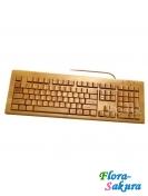 Бамбуковая клавиатура . Доставка по Киеву и Украине