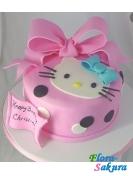 Детский торт Розовый Китти . Доставка по Киеву и Украине