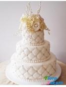 Свадебный торт Версальская ночь . Доставка по Киеву и Украине