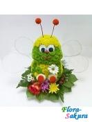 Пчелка из цветов . Доставка по Киеву и Украине