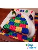 Детский торт Лего 7 . Доставка по Киеву и Украине