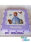 Детский торт София прекрасная . Доставка по Киеву и Украине