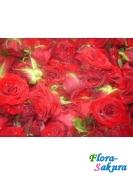 Процесс приготовления лепестков роз . Доставка по Киеву и Украине