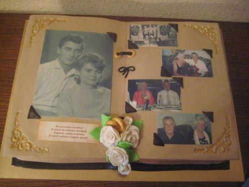 Торты в виде фотоальбома
