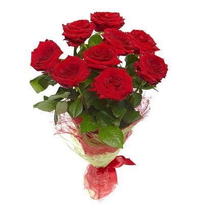 Букет красных роз Эстель. Доставка по Киеву и Украине