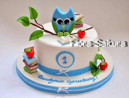 Детский торт на 1 год фото